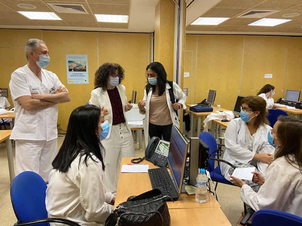 Visita unidad vigilancia epidemiológica de Talavera (1)