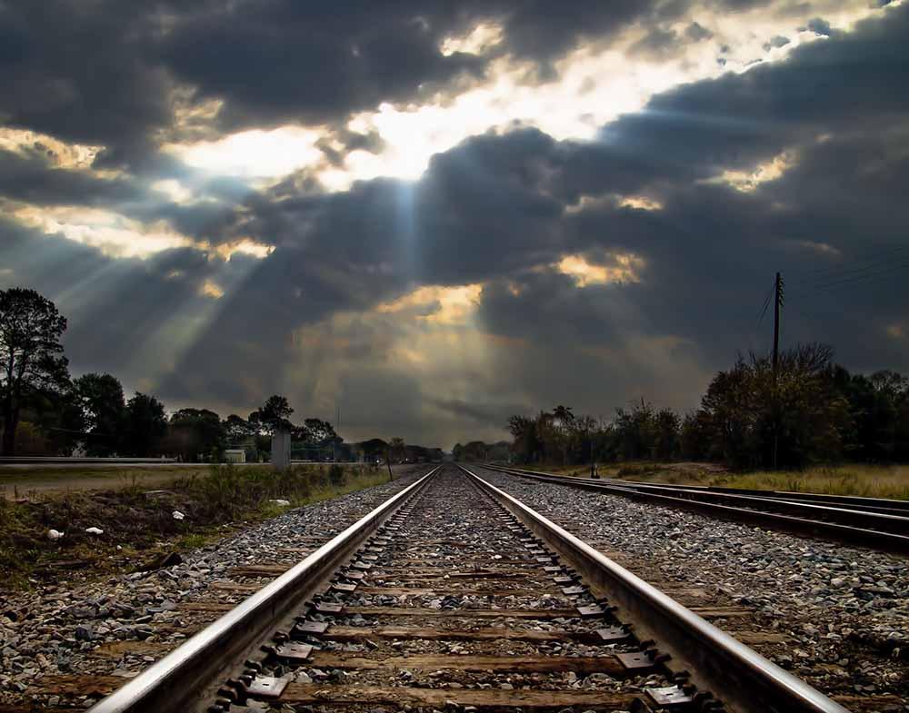 railes de tren