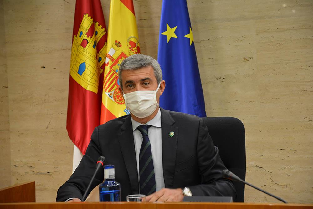 Álvaro Gutiérrez foto Comisión Despoblamiento Cortes regionales comparecencia 28072020