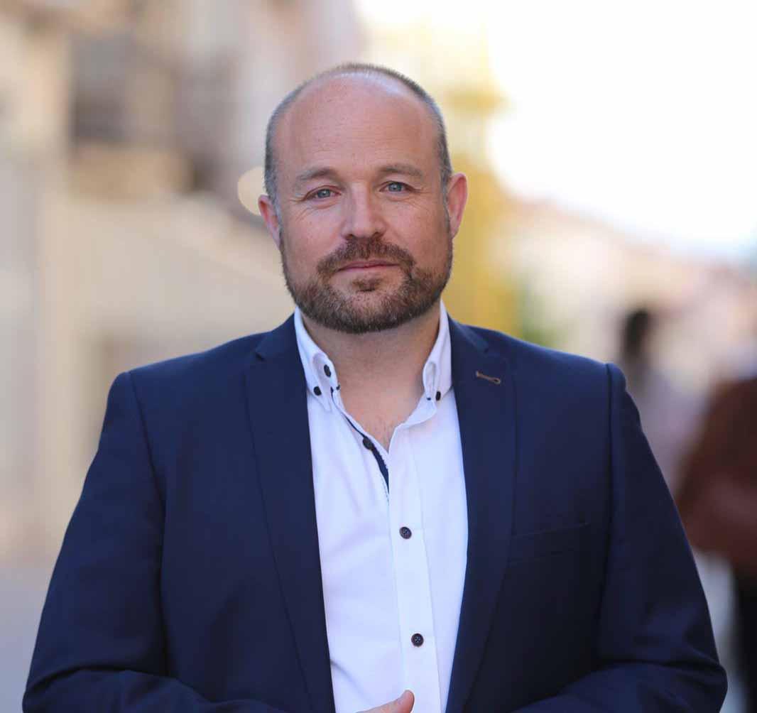 Alejandro Ruiz presidente grupo parlamentario Cs C-LM