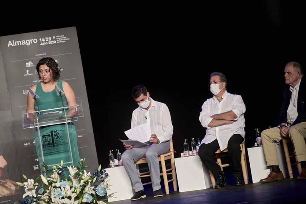 Ana Muñoz en Almagro