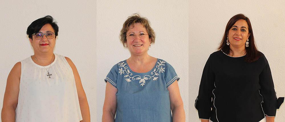En el centro, la nueva portavoz de Igualdad de las Cooperativas Agrarias de Castilla-La Mancha