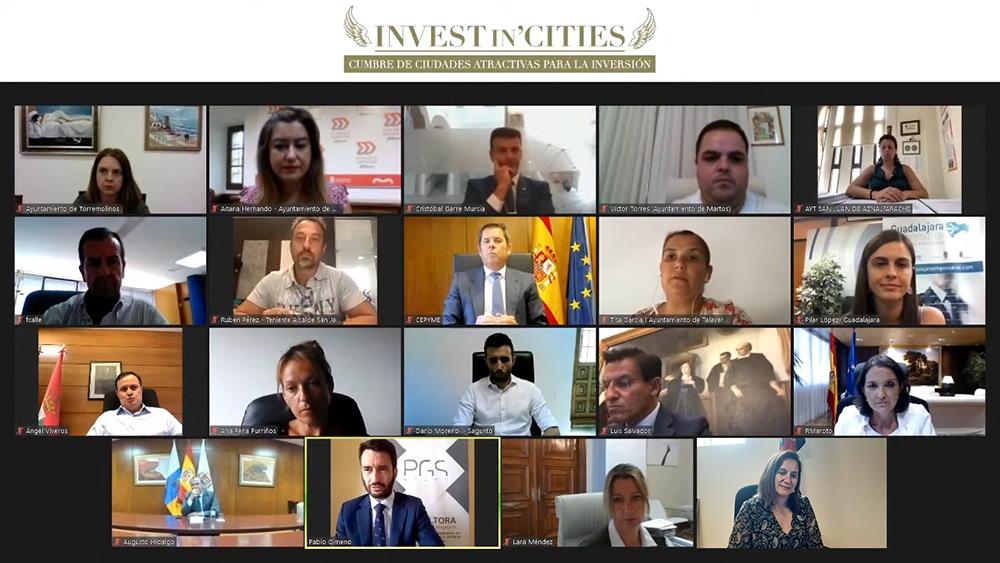 Foto grupo presentación 'Invest in Cities 2020'