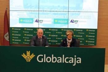 Globalcaja y Aluex firman convenio