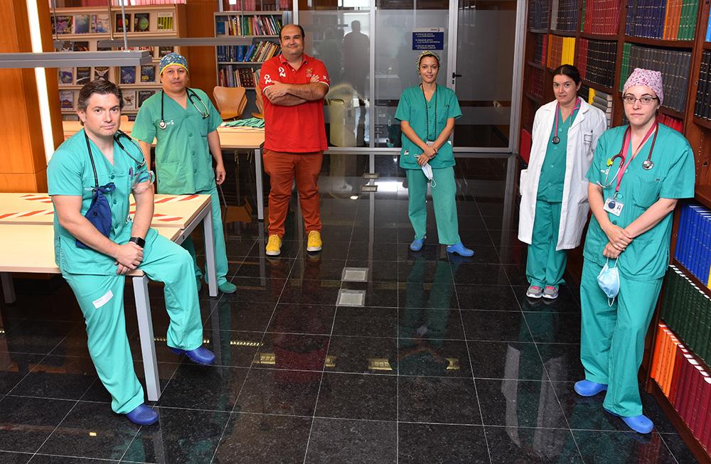 Hospital de Talavera. Grupo investigacion 20200703-02