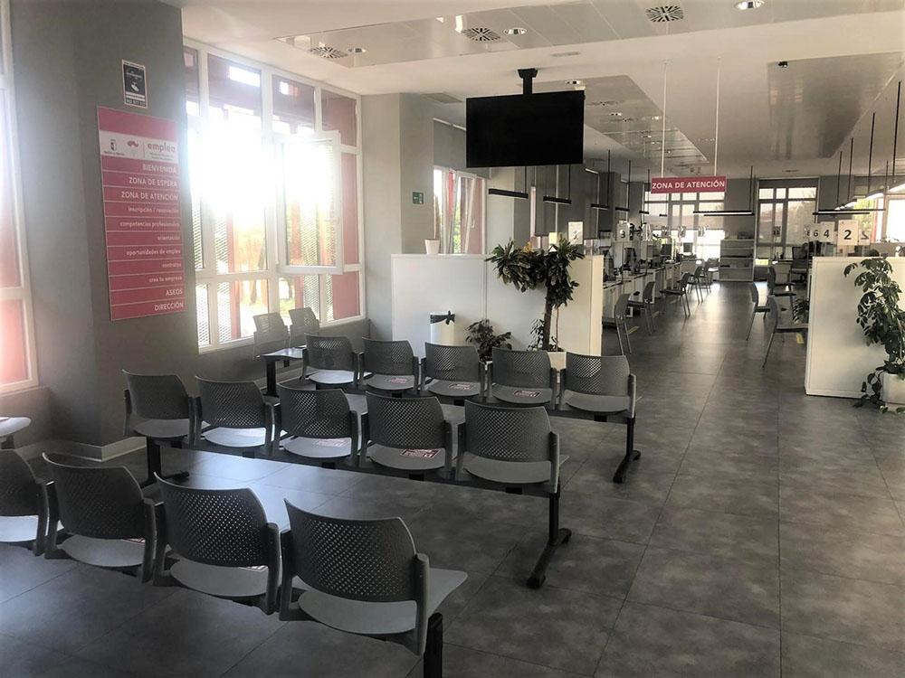 Interior Oficina Emplea Toledo
