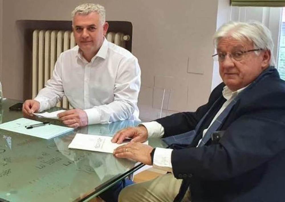 Jesús Ortega y José Luis Vega, foto archivo