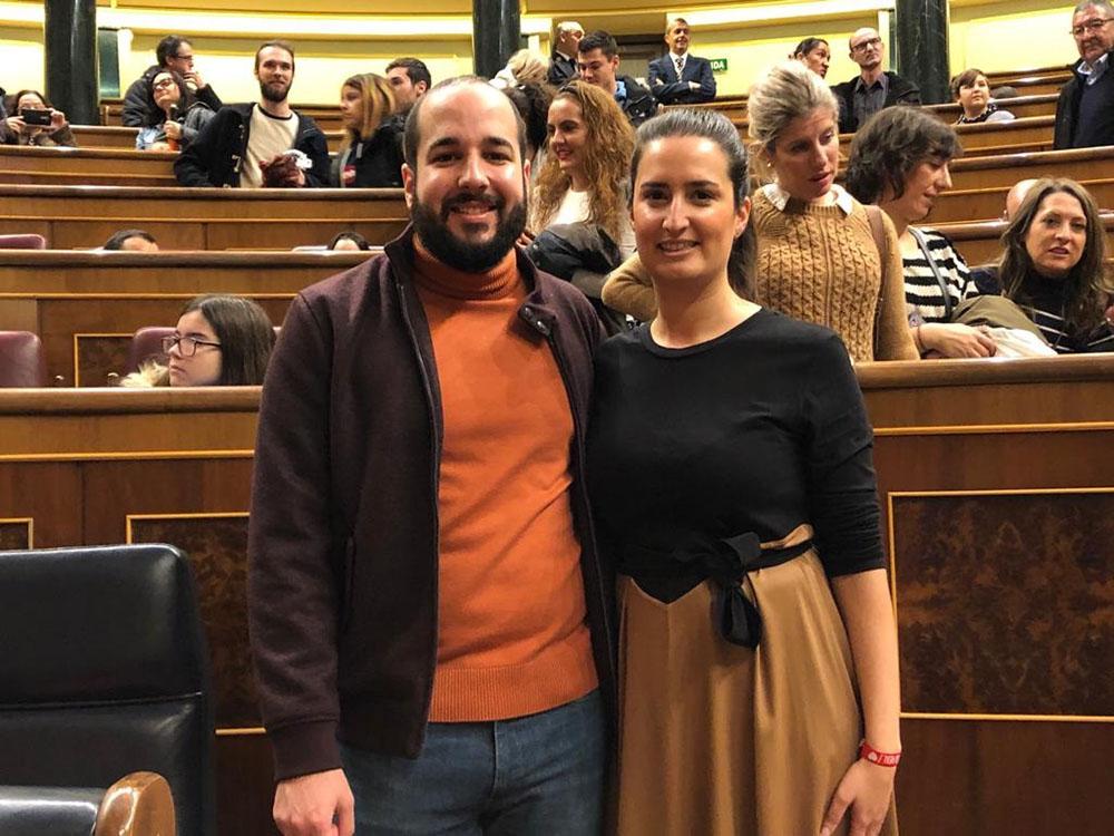 Miguel y Cristina_Congreso
