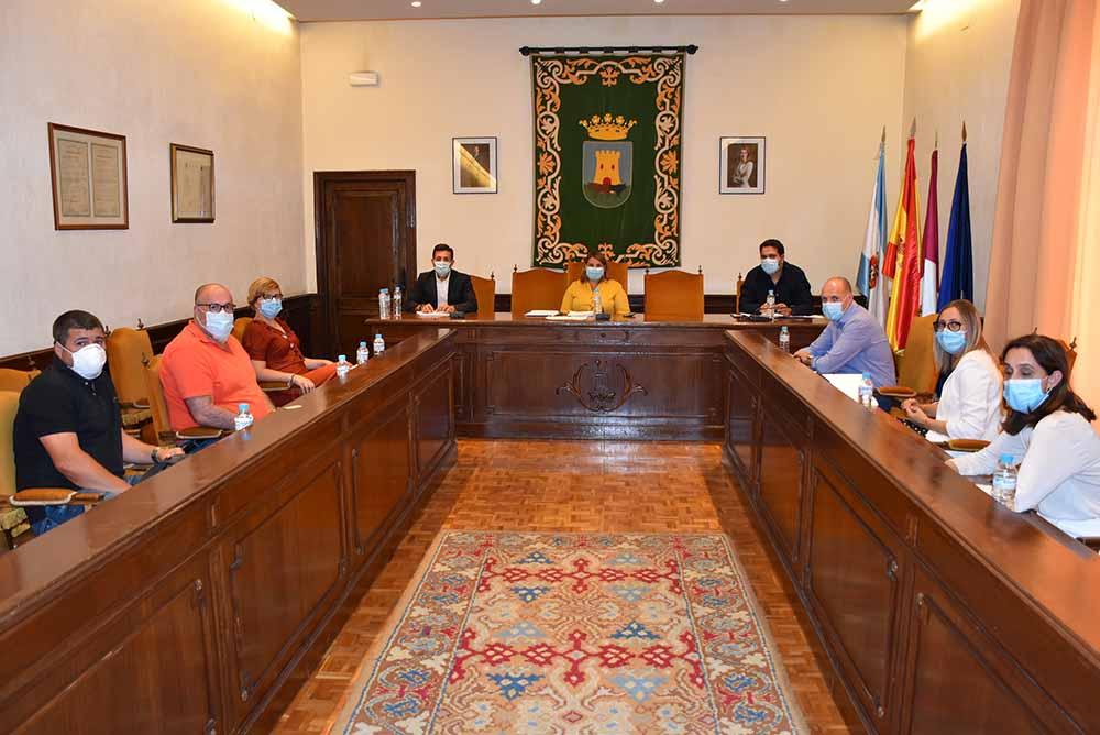 Reunión carta ministro transportes Talavera