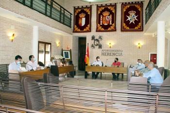 Reunion consejo admon de Emaser en Herencia