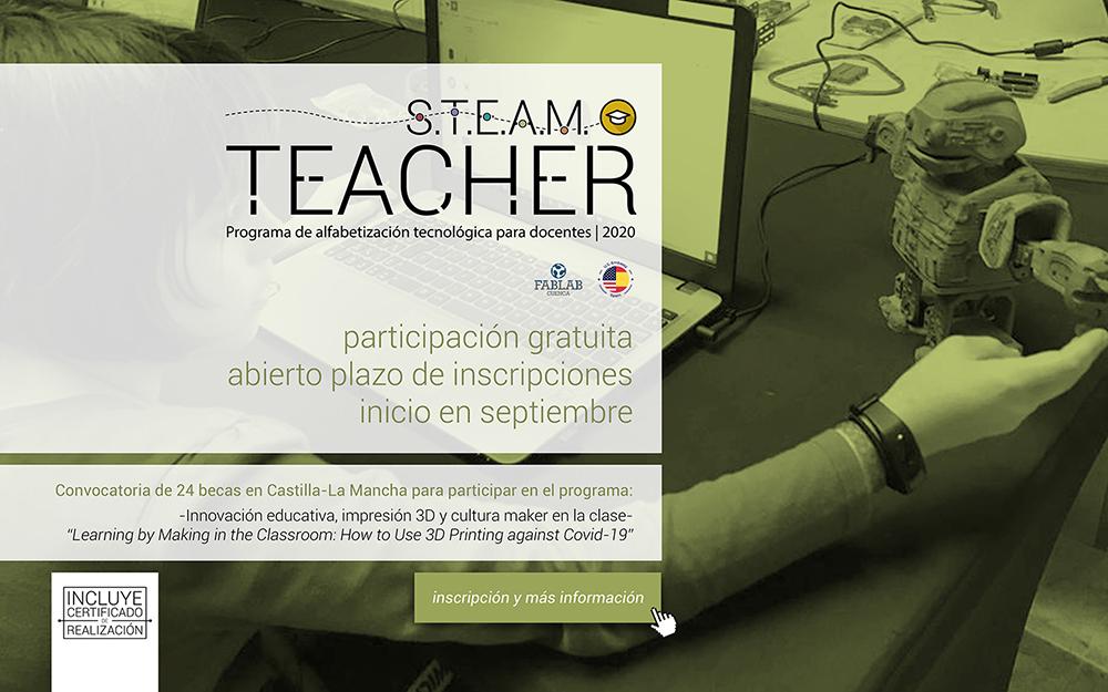 STEAM Teacher-anuncio 02A