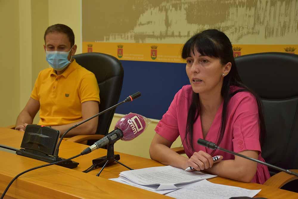 Sergio Gutiérrez y Nuria Sánchez ayudas libros