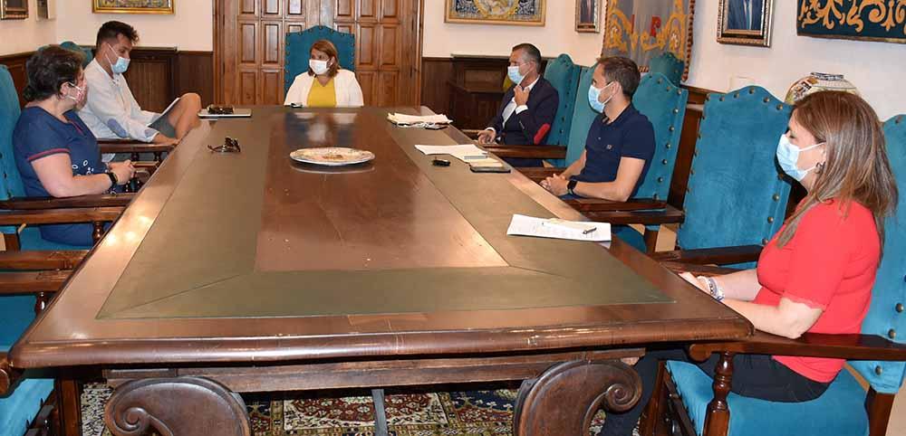 Talavera alcaldesa y SAD Talavera
