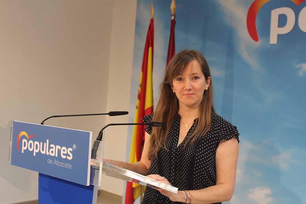 Tania Andicoberry, vicesecretaria PPCLM