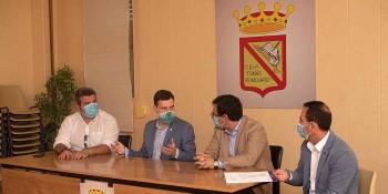 Visita Delegado al IES Tomás Romojaro Fuensalida. Obras RAM (4)
