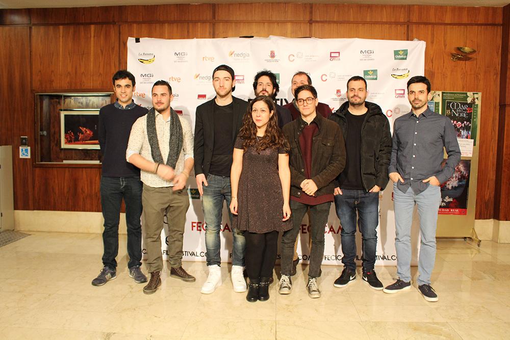 FECICAM jovenes_directores_con_directora_de_fecicam_marina_gonzalez