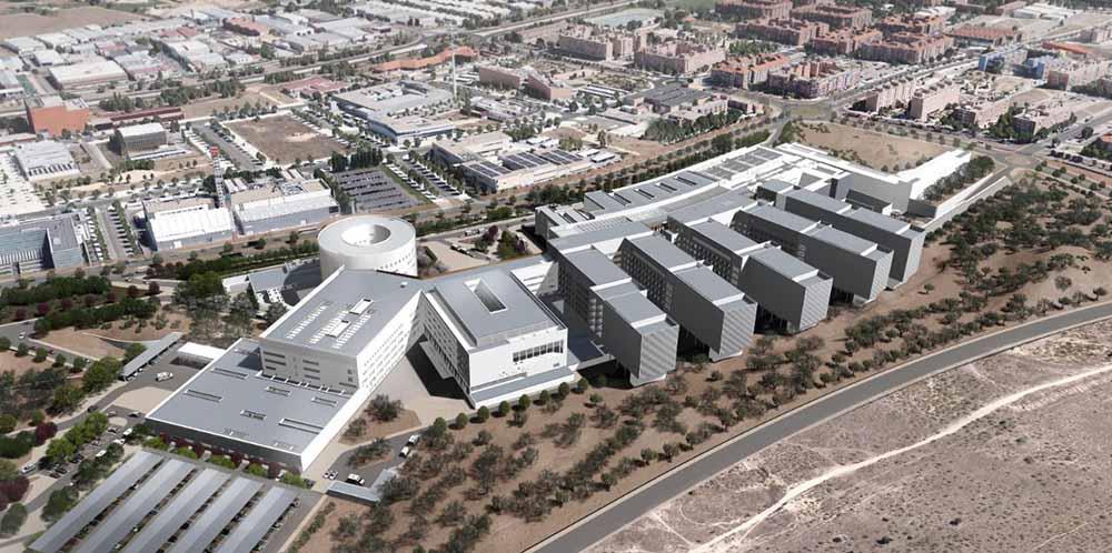 Panoramica Nuevo hospital de Toledo