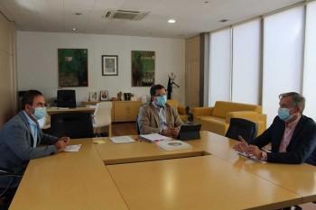 Reunión con alcalde Madridejos