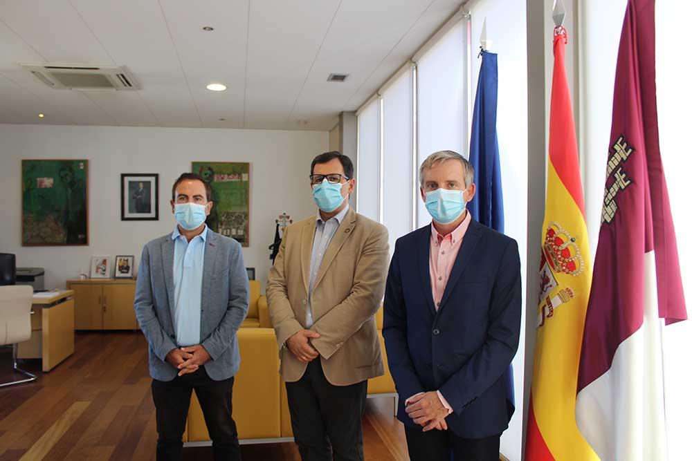 Reunión con alcalde de Madridejos