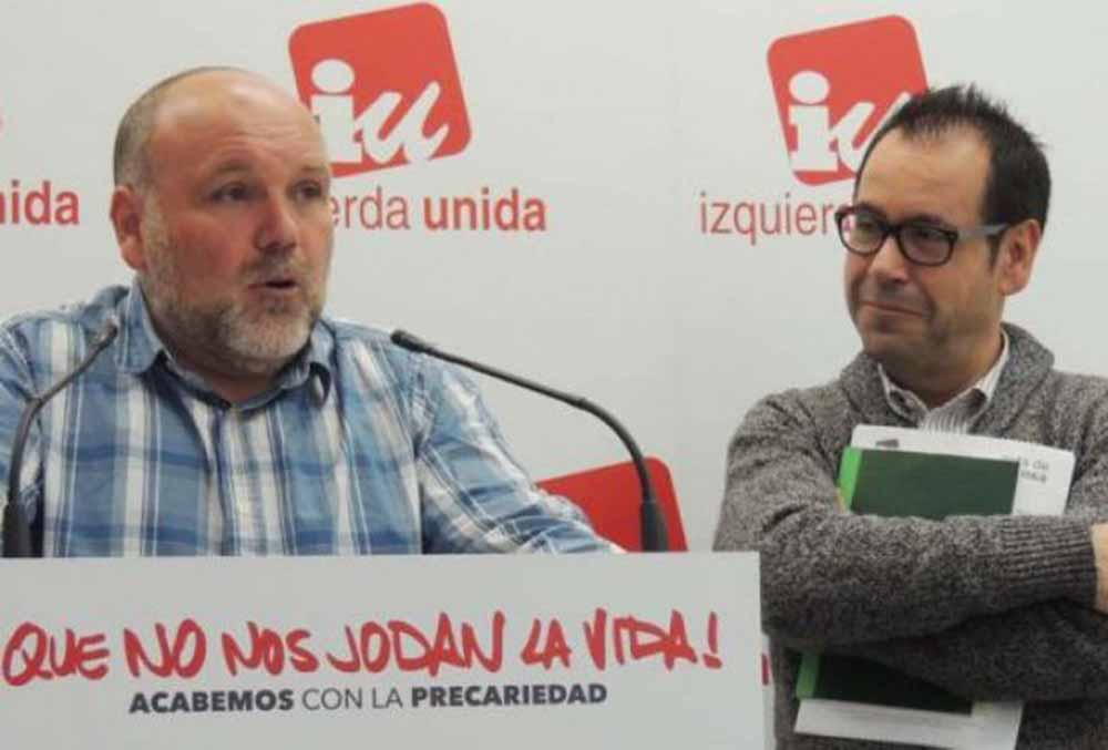 Txema Fernández y Juan Ramon Crespo