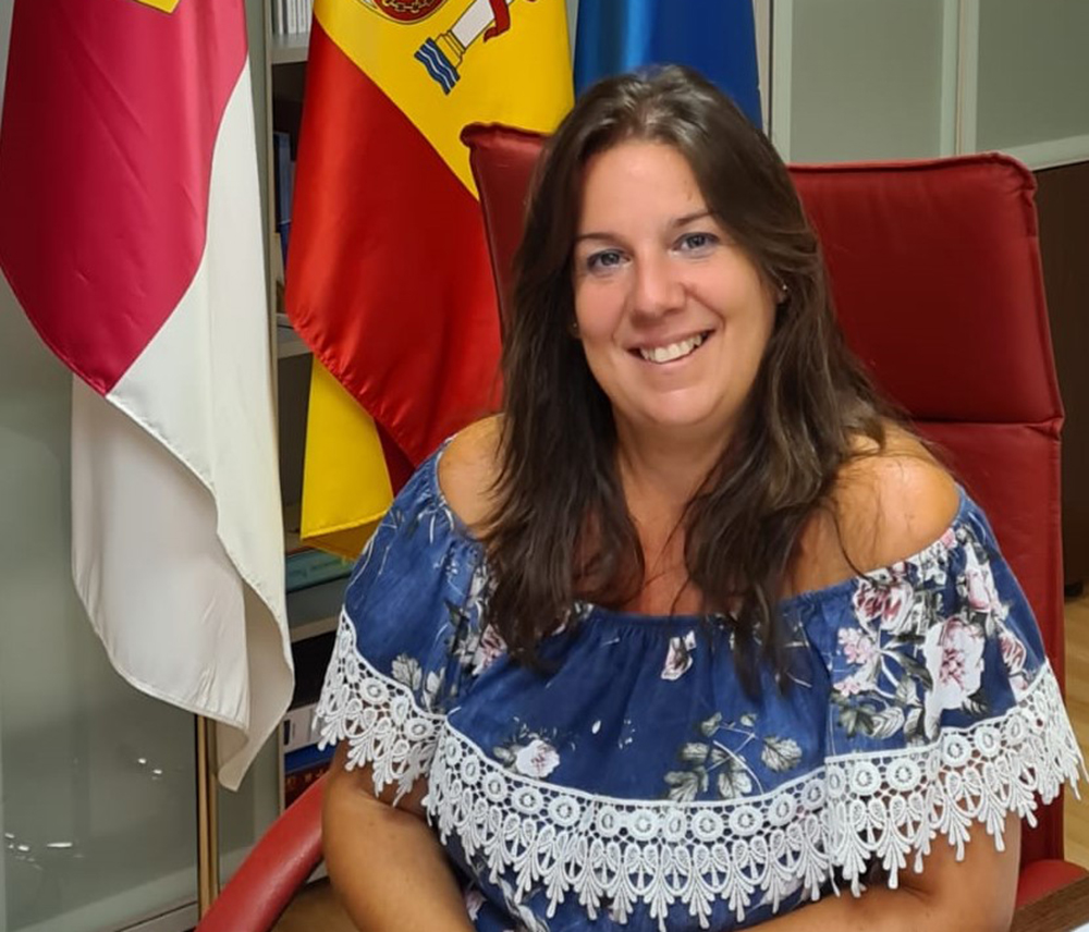Amelia María Guzmán Alcaldesa de Carranque