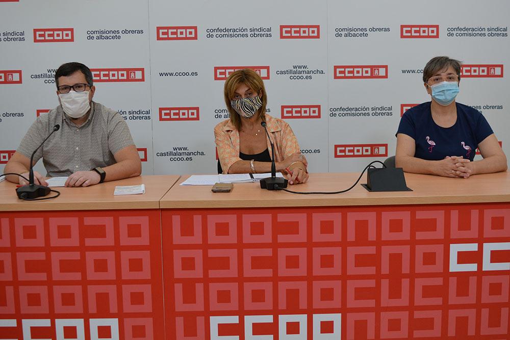 CCOO Albacete valoración inicio curso escolar
