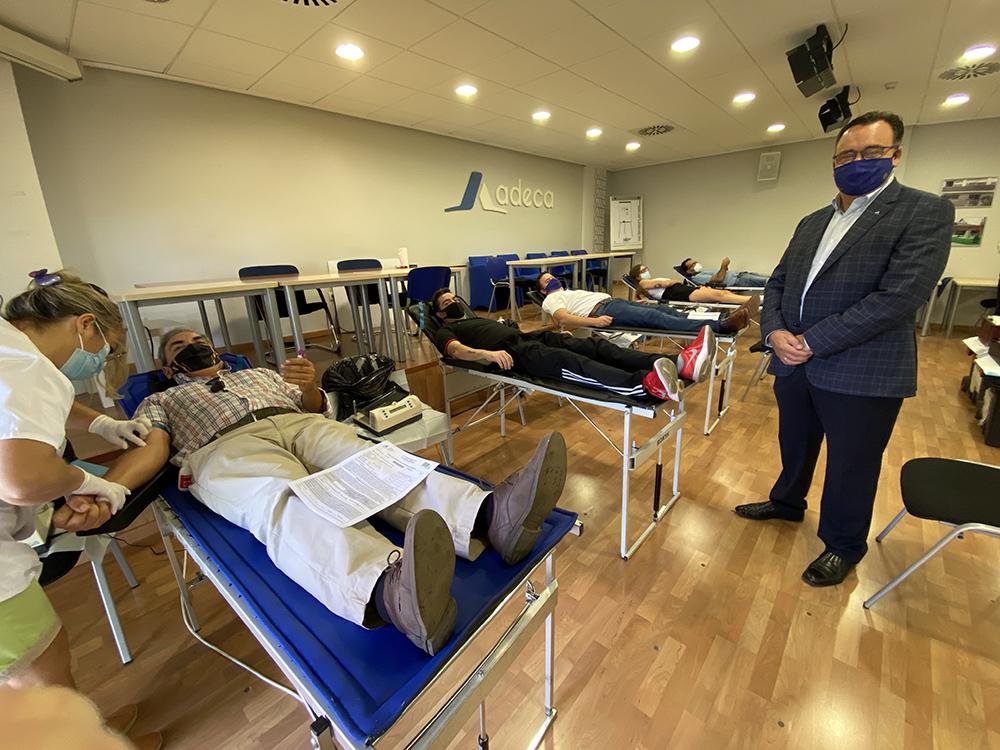 Donación de sangre en ADECA