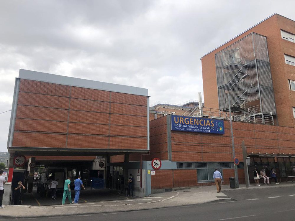 Hospital de Toledo urgencias
