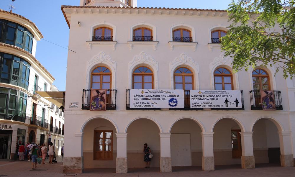 Pancartas 'Manzanares contra la COVID-19' (10)