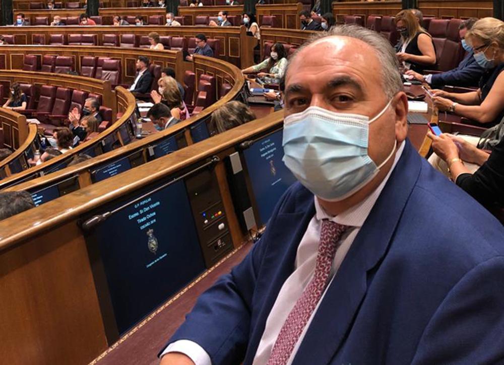 Vicente Tirado en el Congreso - 300920