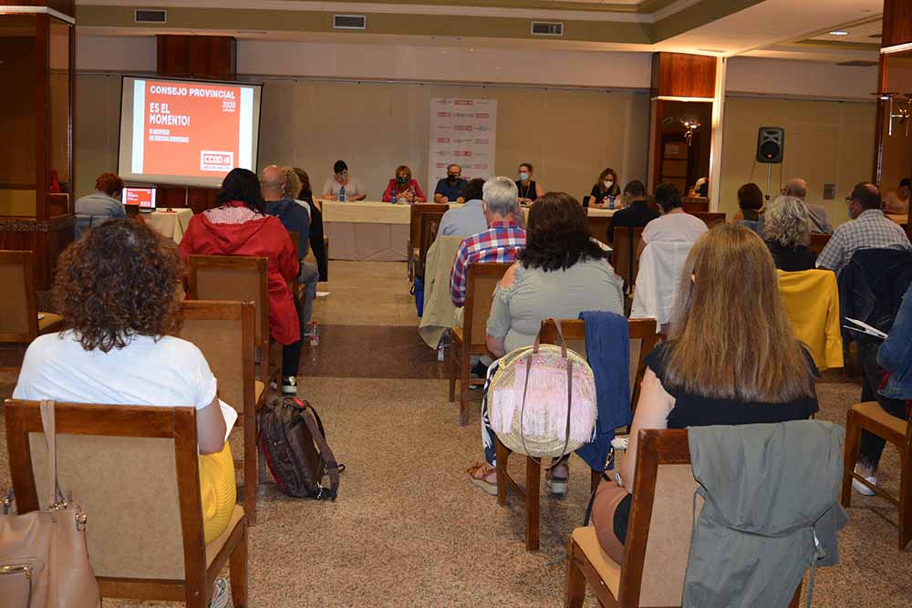 consejo provincial CCOO Albacete 23 de septiembre