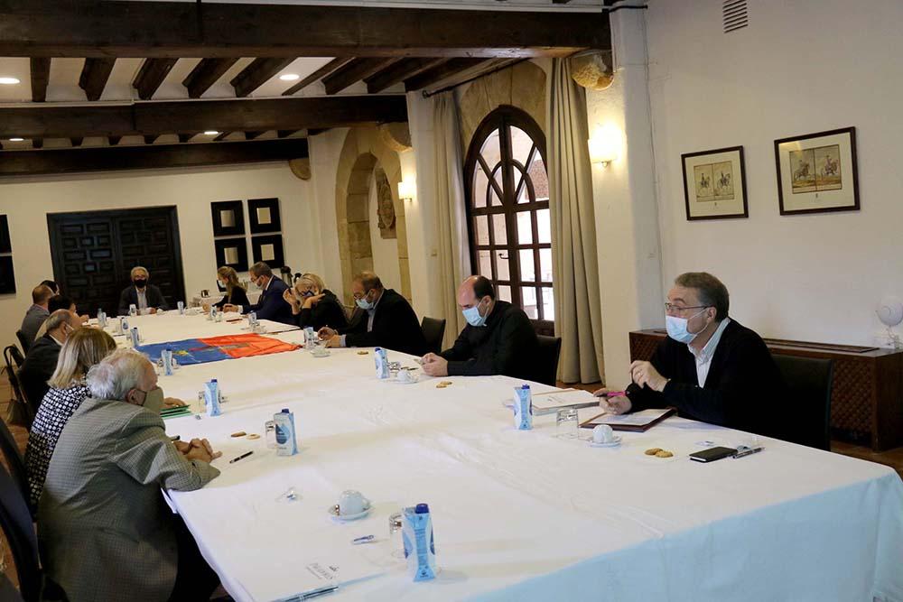 reunión del Consejo Rector de la candidatura seguntina 11