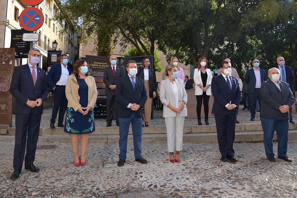 Álvaro Gutiérrez foto paseo artesanos Toledo inauguración 09102020