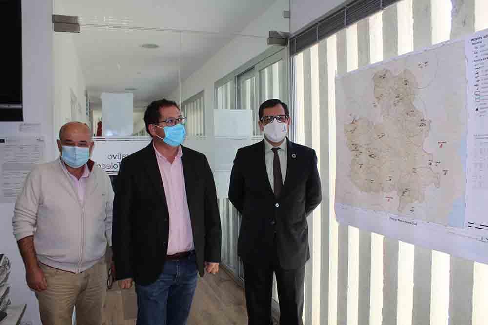 Úbeda y Villarrubia en el COP. Balance campaña incendios forestales. (3)