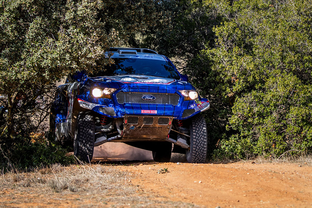 1º_Ganador Rallye TT cuenca 2020_santiago carnicer_Ford Ranger - copia