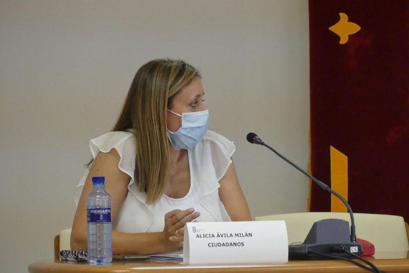 Alicia Ávila portavoz de Cs en Yebes