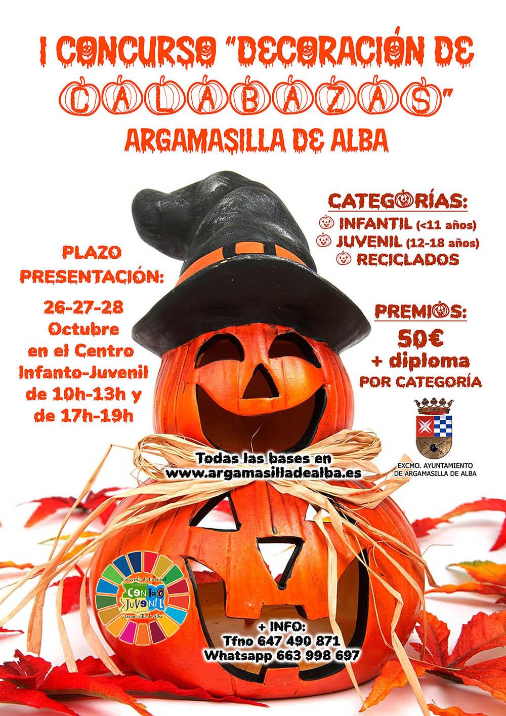Concurso de Calabazas_Halloween_Cartel_AdeAlba