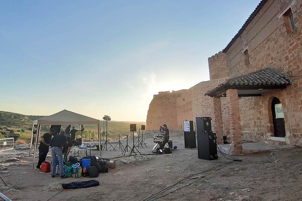 DJ En el Castillo de Peñarroya01_AdeAlba