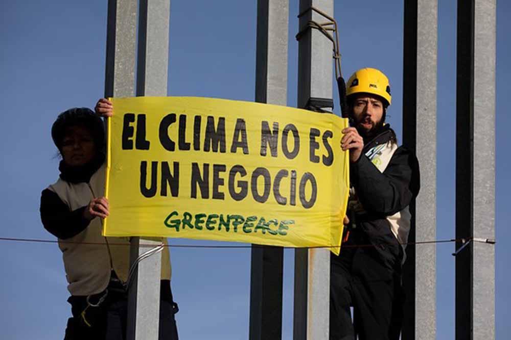 El clima no es un negocio