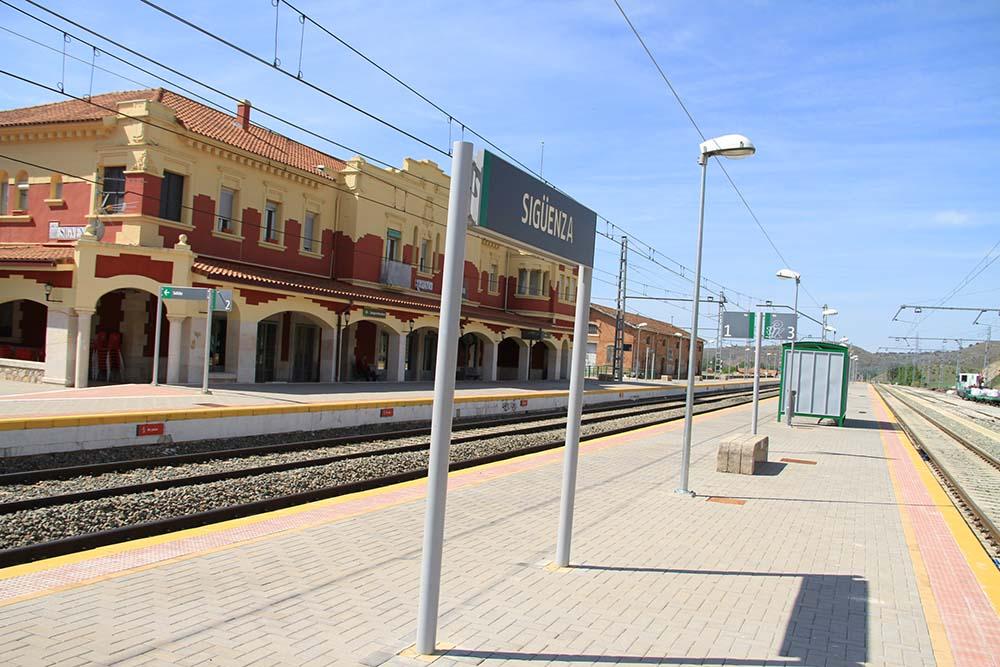Estación ferrovial de Sigüenza