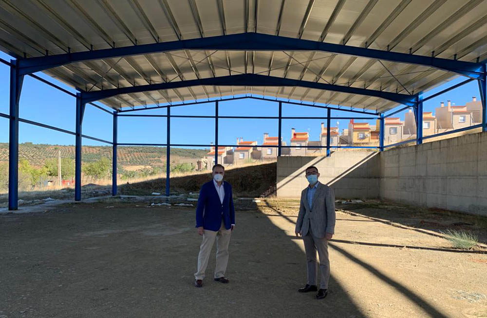 Fernando Muñoz foto Nava Ricomalillo visita 102020