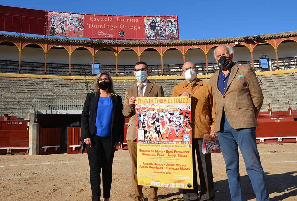 Fernando Muñoz foto clase solidaria Escuela Taurina 13102020