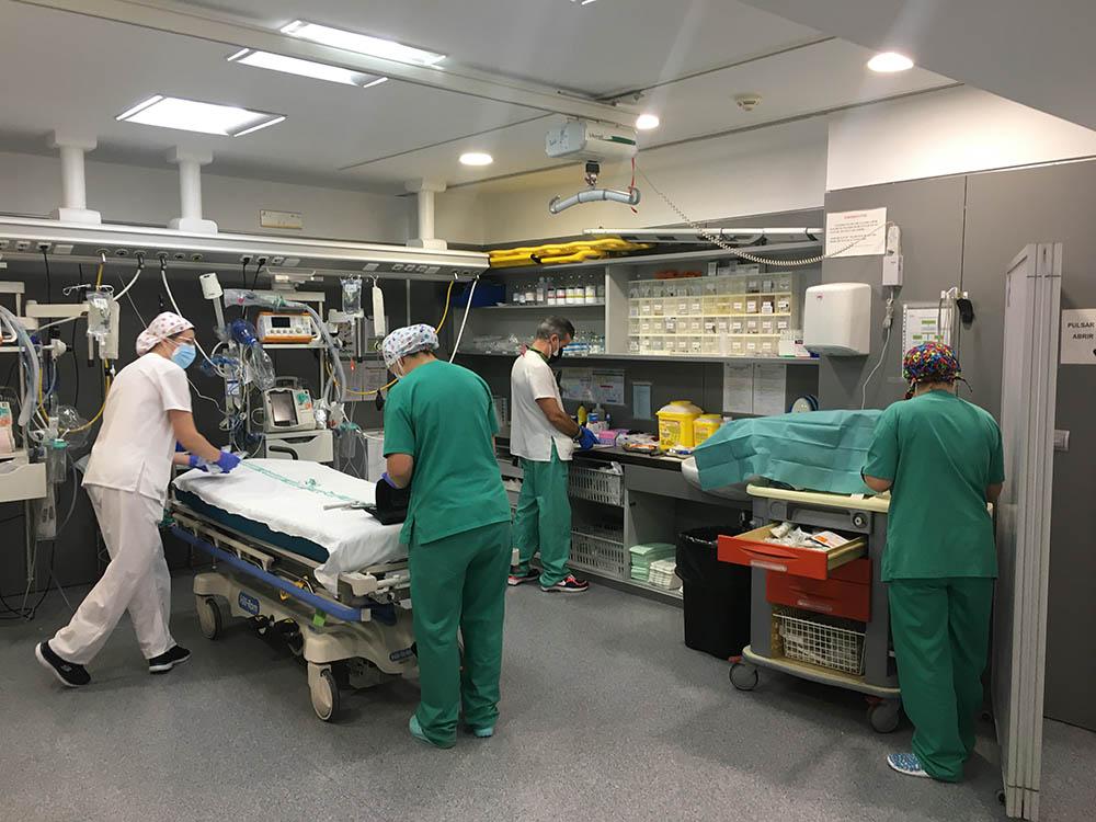 HOSPITAL DE HELLIN ABRE LAS URGENCIAS - FOTO SESCAM