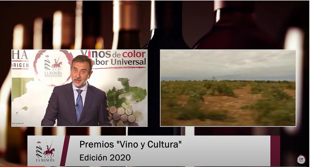 Imagen de la gala virtual, presentada por el periodista Pedro Carreño
