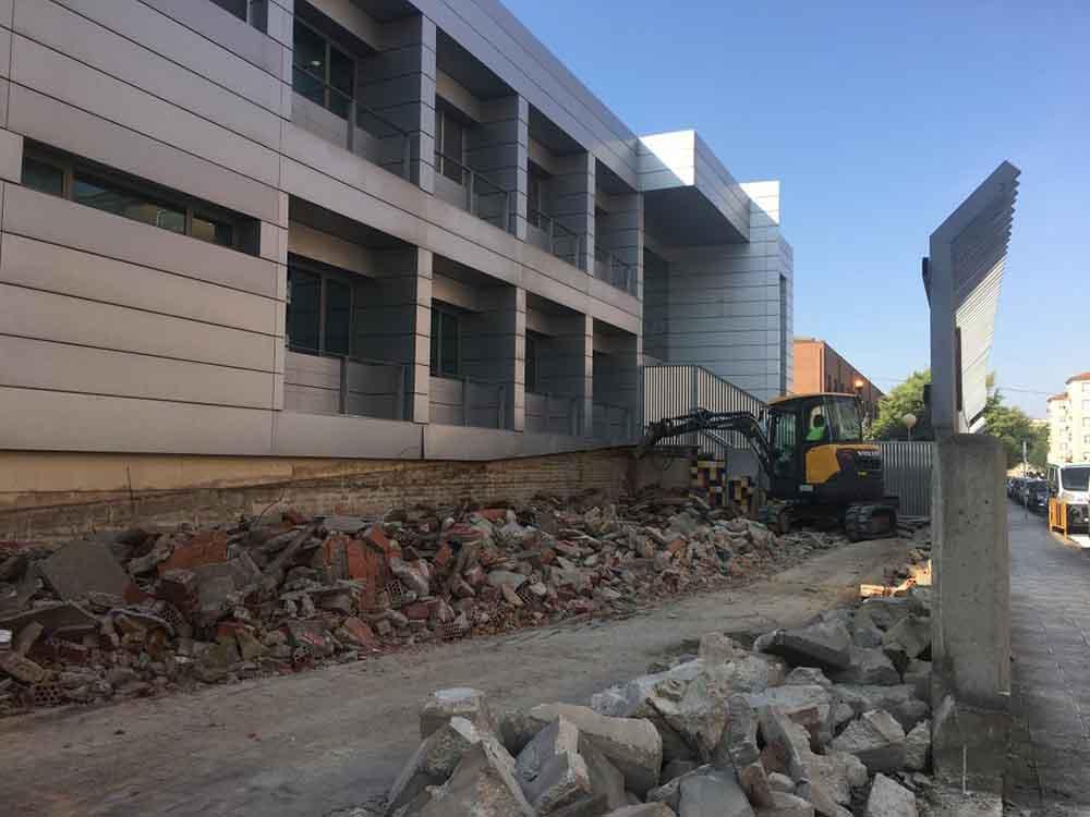Obras hospital de Albacete