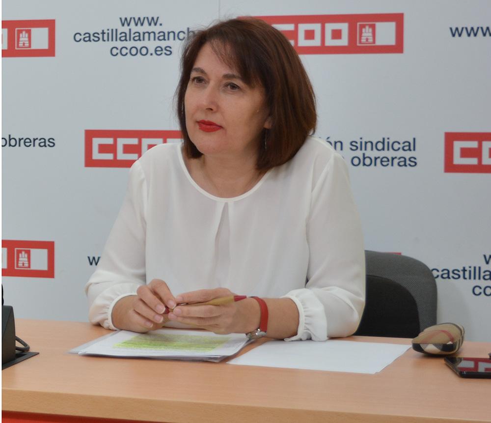 Paqui Jiménez secretaria provincial empleo y formacion CCOO Albacete (2) (1)