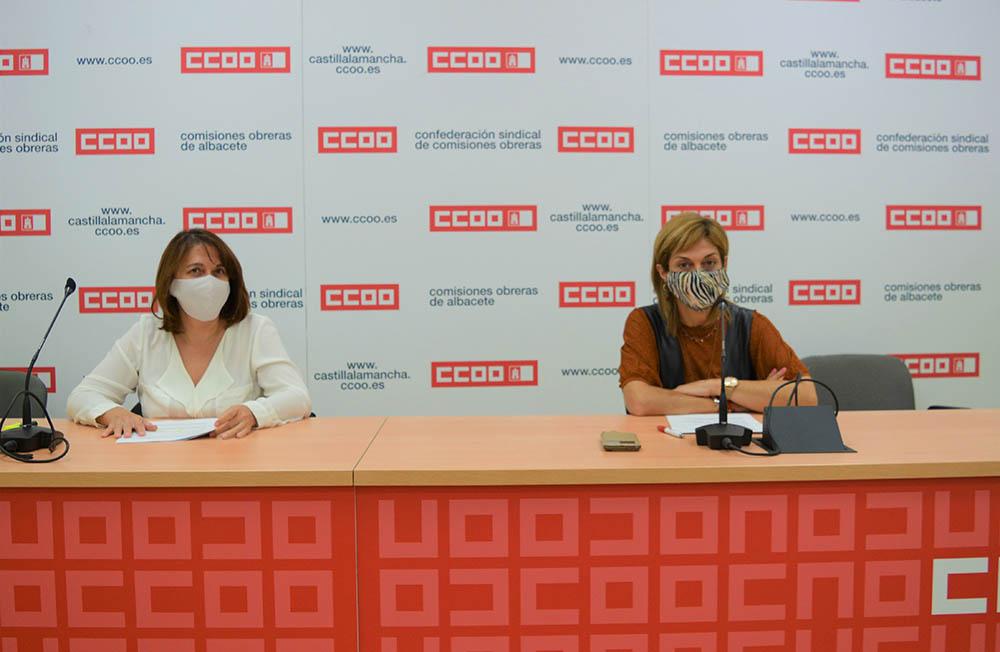 Paqui Jiménez y Carmen Juste