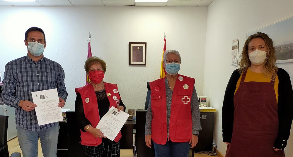 Villacañas firma convenio cruz roja 2