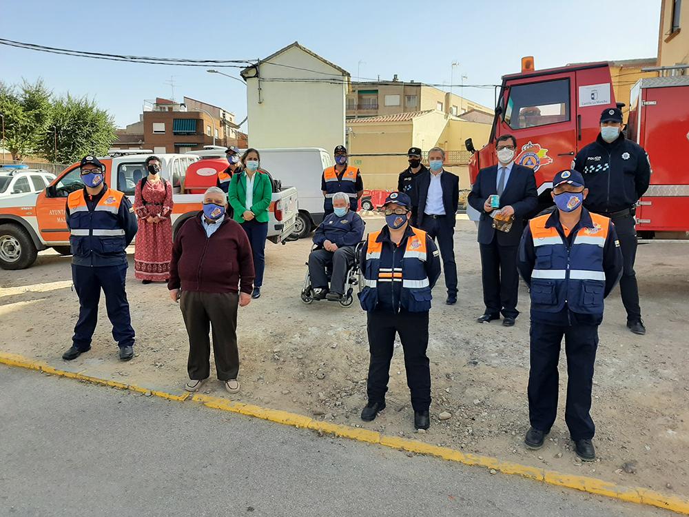 Visita Agrupación Protección Civil Madridejos (1)