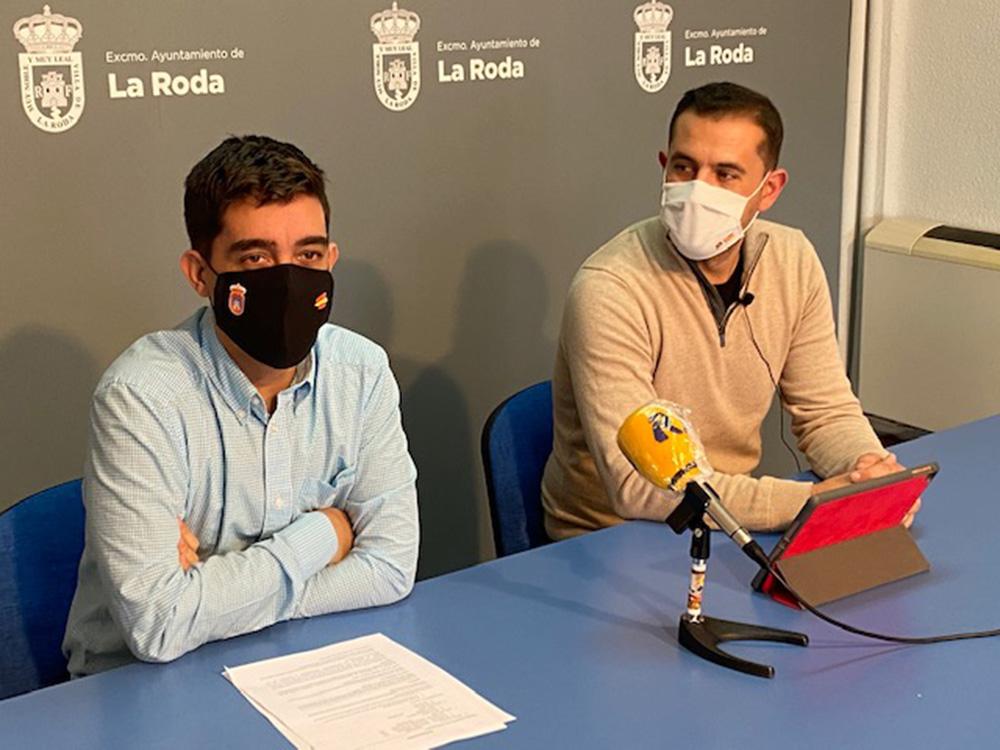 Alberto Iglesias, y Luis Fernández l